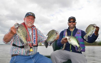 FISHING FOR CRAPPIE