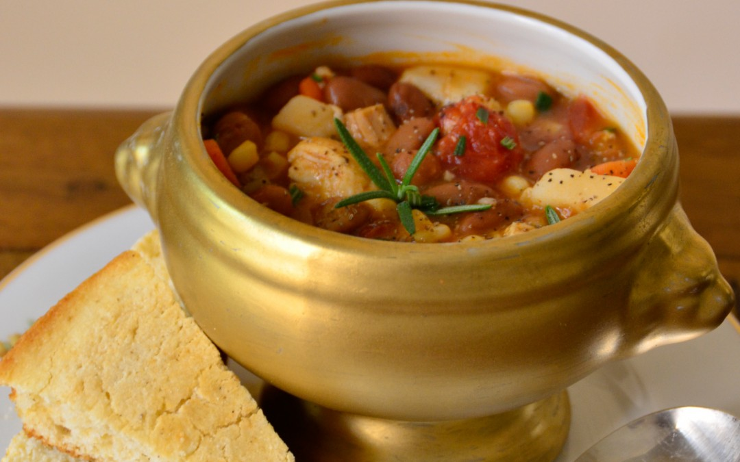 PATTY'S PICK: CHICKEN VEGETABLE SOUP