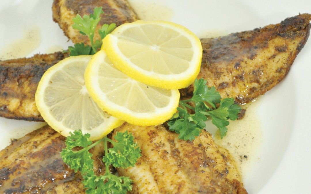 PATTY'S PICK: BLACKENED CATFISH