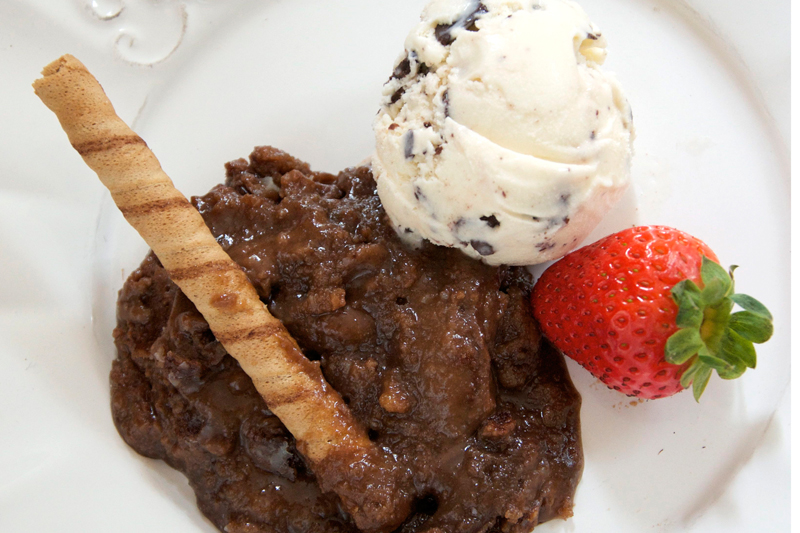PATTY'S PICK: CHOCOLATE COBBLER