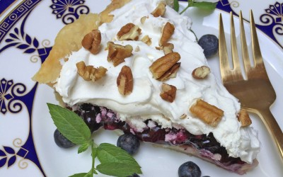 PATTY'S PICK: Blueberry Cream Pie