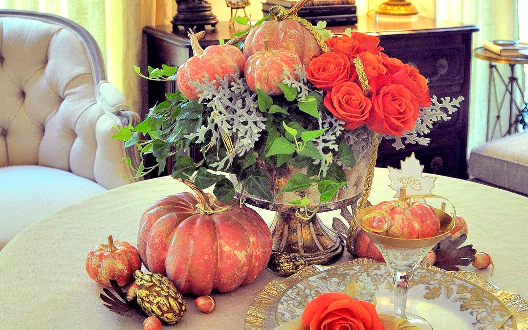 EASY DOES IT: Marbleized Pumpkins