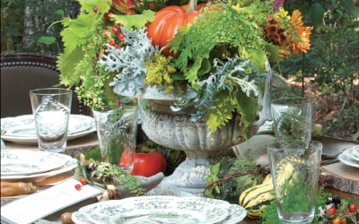 Easy Does it: Natural Beauty on the Table