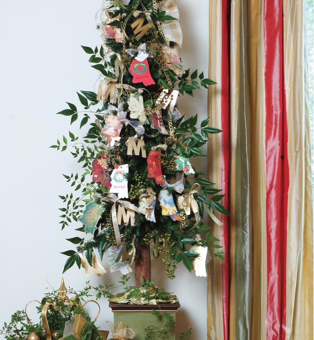 Christmas Card Ornaments!
