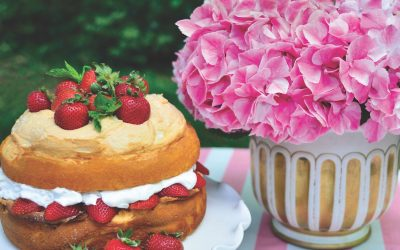 Patty Roper's Strawberry Meringue Cake
