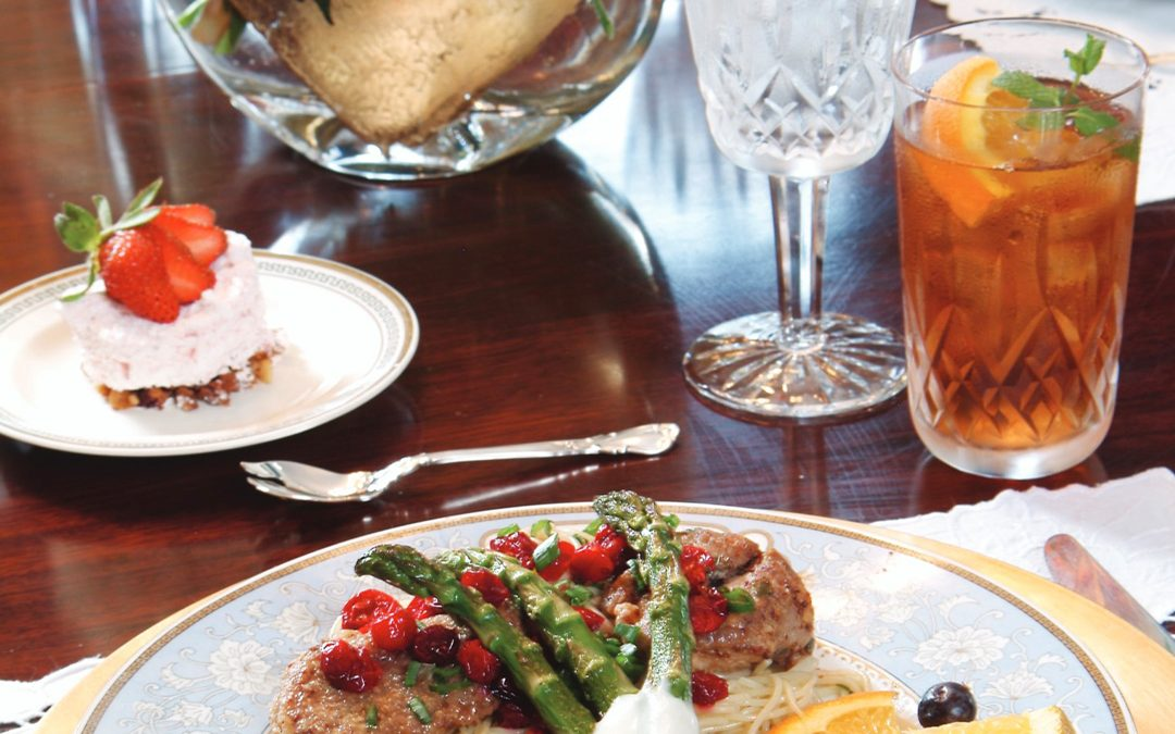 PATTY'S PICK: Pork Medallions with Cranberries