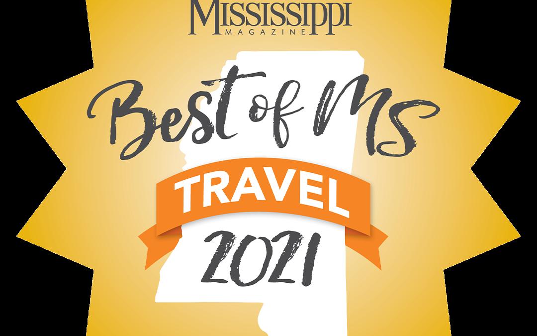 2021 BEST OF MISSISSIPPI TRAVEL RESULTS
